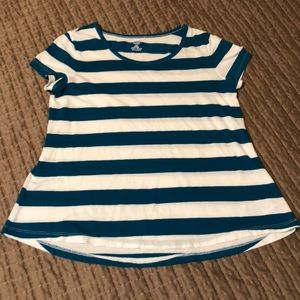 Girl's Old Navy size large striped tee
